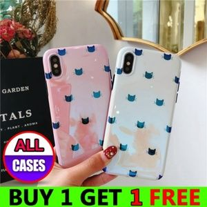 Accessories - *NEW iPhone Max/XR/XS/X/7/8/Plus Kitty Cat Case